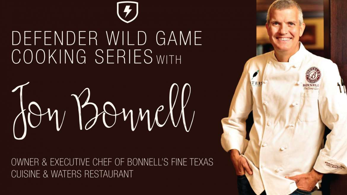 Wild Game Cooking Series With Jon Bonnell