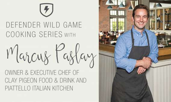 Wild Game Cooking Series With Marcus Paslay