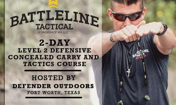 Level 2 Defensive Conceal Carry and Tactics Course